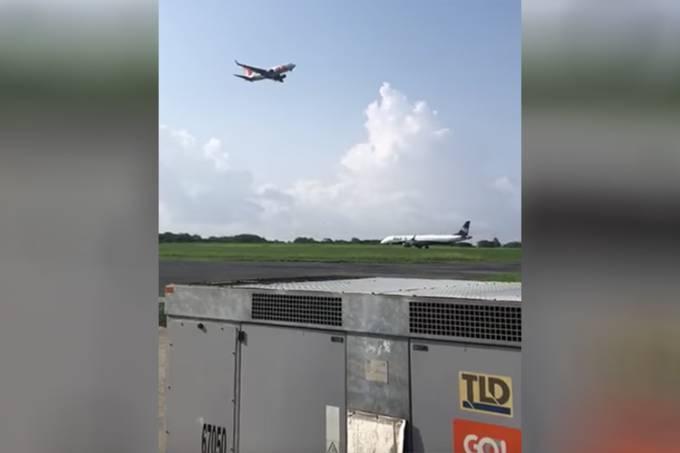 Avião arremete para evitar colisão em Fernando de Noronha