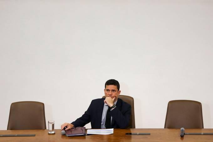 Sergio Moro apresenta o Projeto de Lei Anticrime