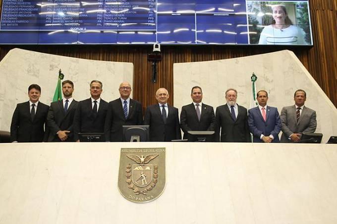 Nova Mesa Executiva da Assembleia Legislativa do Paraná