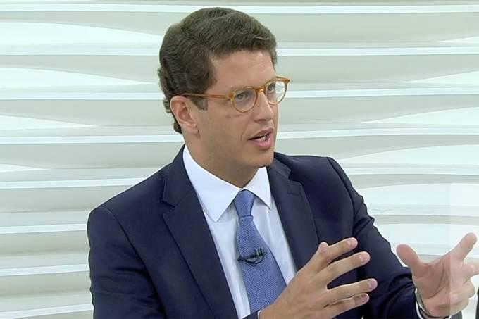 O advogado Ricardo Salles participa do programa Roda Viva