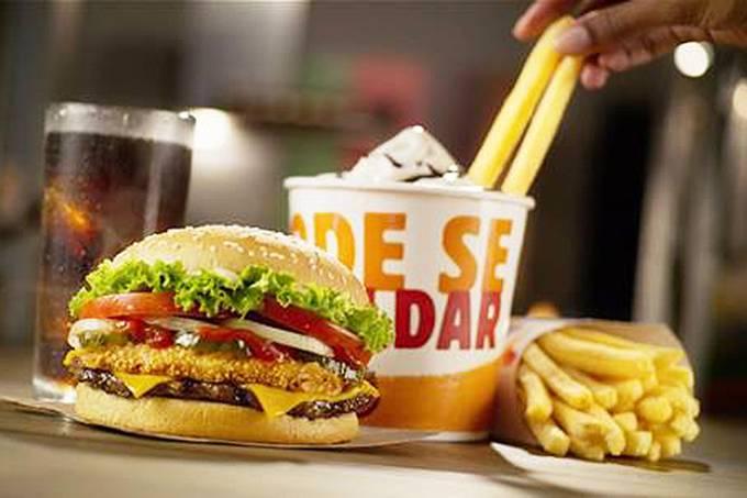 Combo do Burger King