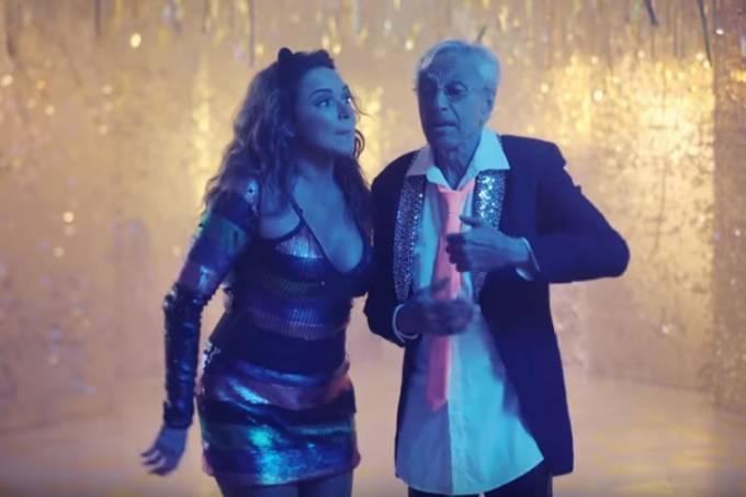 Daniela Mercury e Caetano Veloso