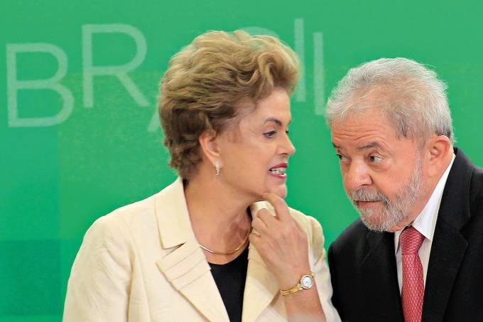 Luis Inacio Lula da Silva e Dilma Rousseff