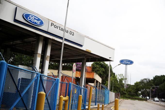Fábrica da Ford em São Bernardo do Campo (SP)