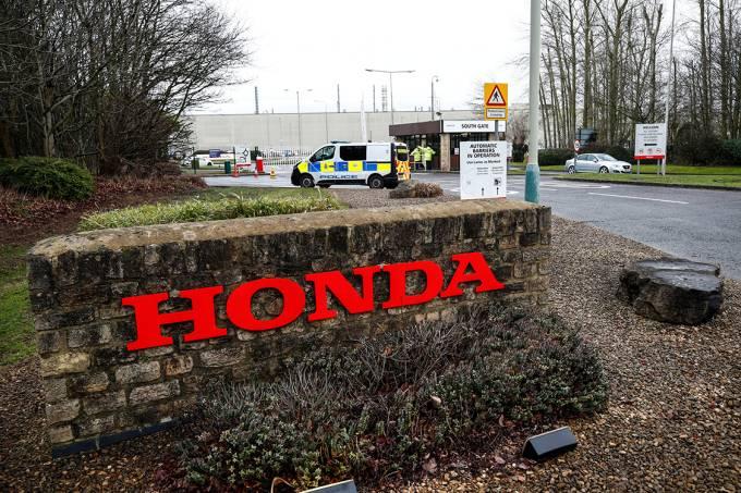 Fábrica da Honda em Swindon