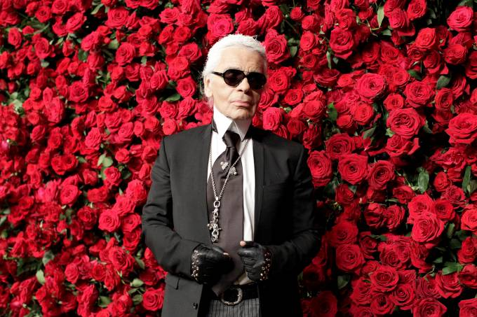 Morre o estilista alemão Karl Lagerfeld