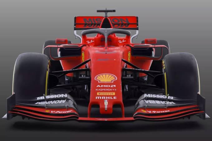 Scuderia Ferrari apresenta novo carro para a Fórmula 1