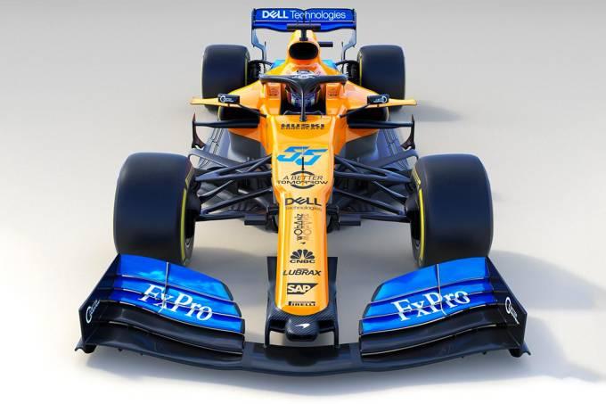 Equipe da McLaren de Fórmula 1 divulga novo modelo de carro para a competição