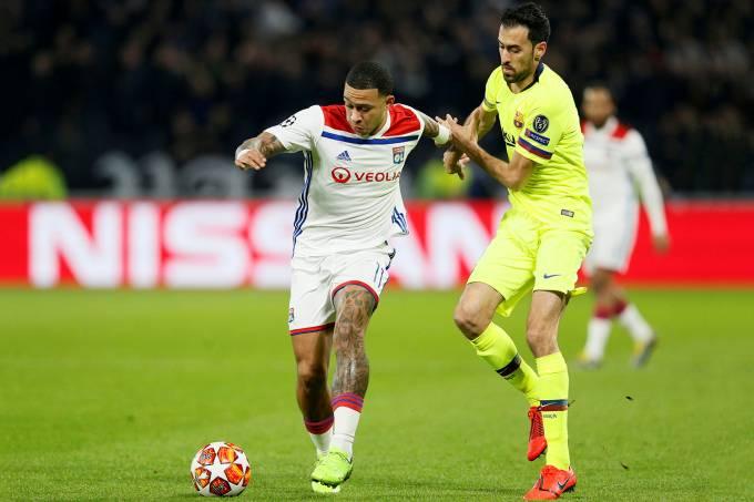 Memphis Depay – Lyon vs Barcelona