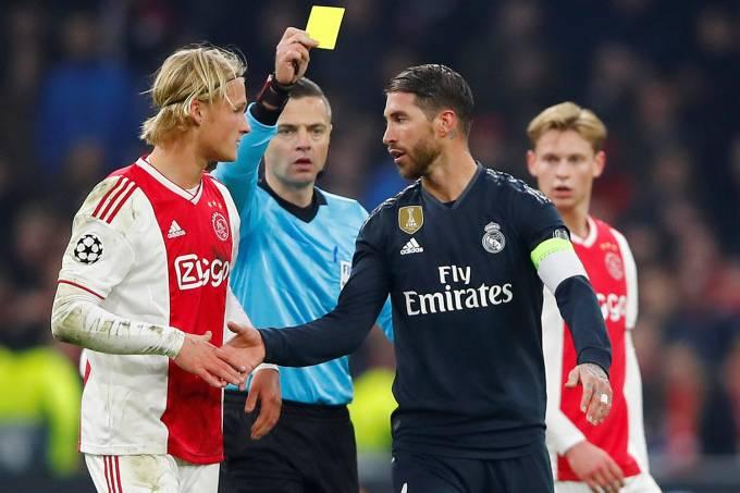 Sergio Ramos – Ajax Amsterdam vs Real Madrid