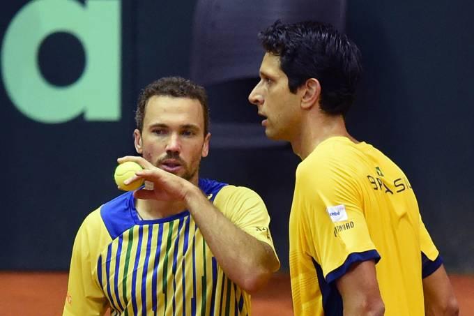 Bruno Soares e Marcelo Melo