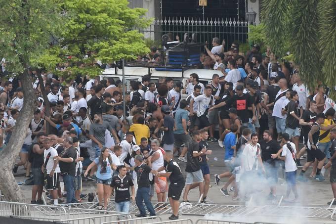 Confusão no Maracanã – Vasco x Fluminense