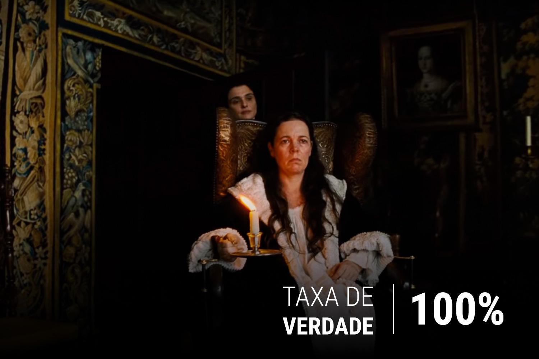 Olivia Colman e Rachel Weisz no longa 'A Favorita', de Yorgos Lanthimos