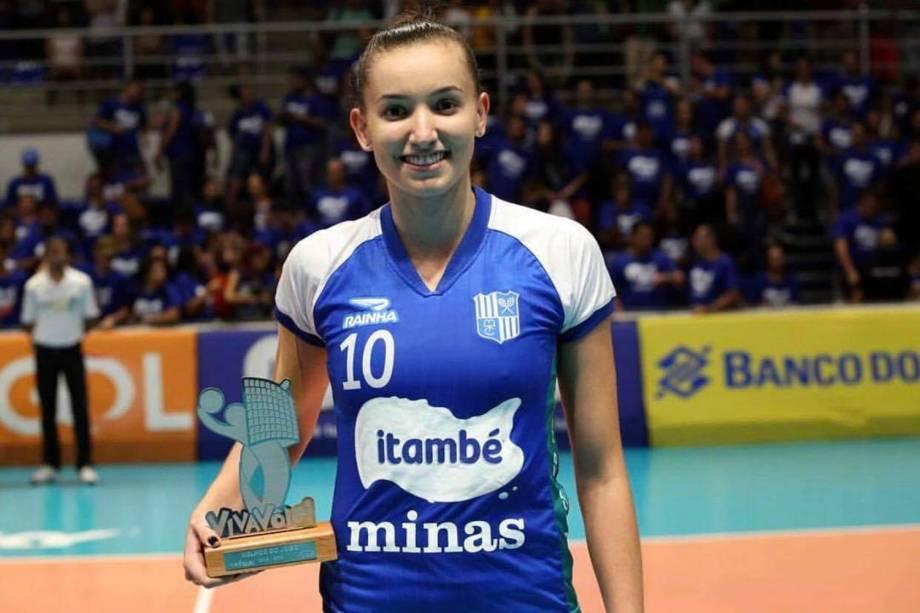 Gabi Guimarães, jogadora do Itambé Minas