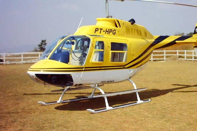 Helicóptero prefixo PT-HPG