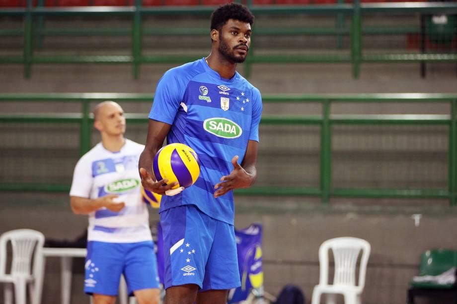 Isac, jogador do Cruzeiro