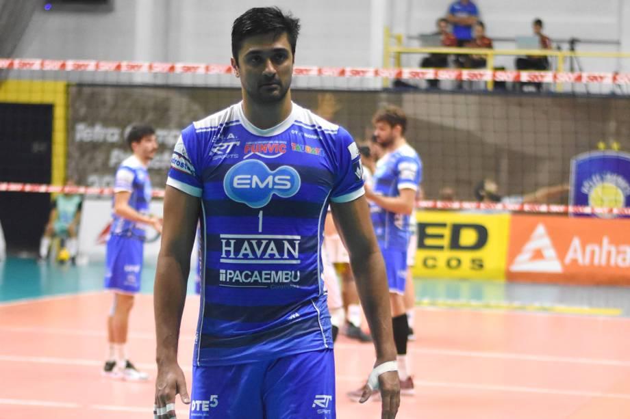 Leandro Vissoto, jogador do EMS Taubaté