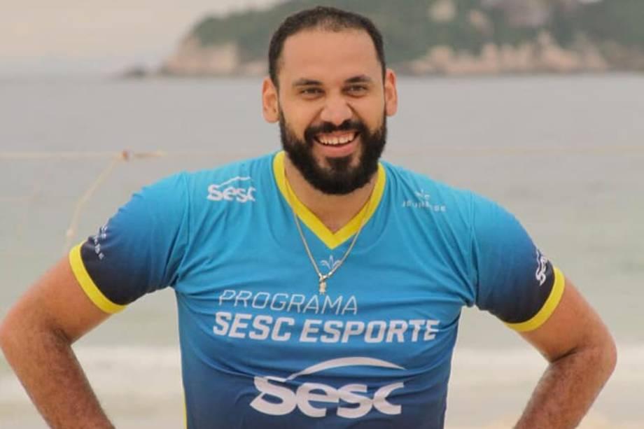 Maurício Borges, jogador do Sesc Rio