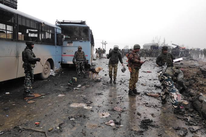 Ataque terrorista na Caxemira