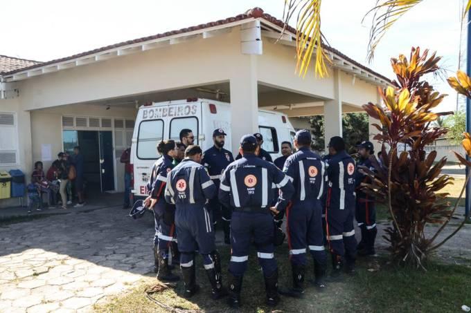 Equipe do SAMU em Pacaraima, Roraima
