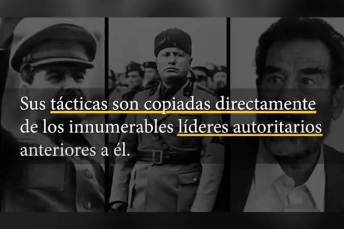 Casa Branca divulga vídeo contra Nicolás Maduro