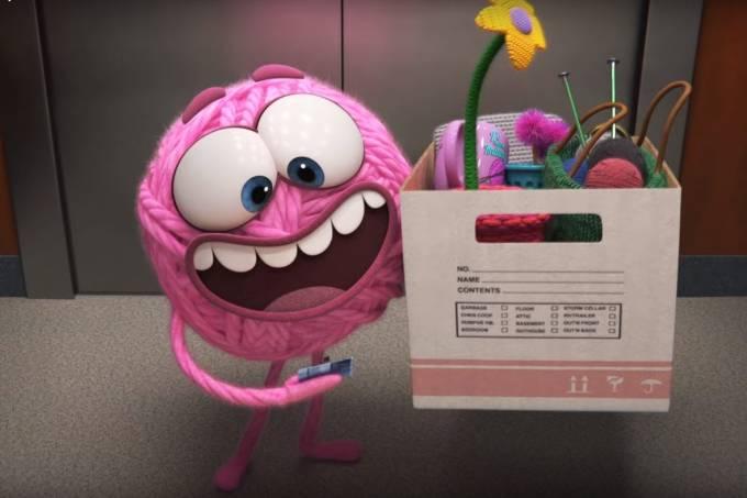 'Purl', curta-metragem da Pixar, aborda o machismo no trabalho sob o ponto de vista de uma bola de lã