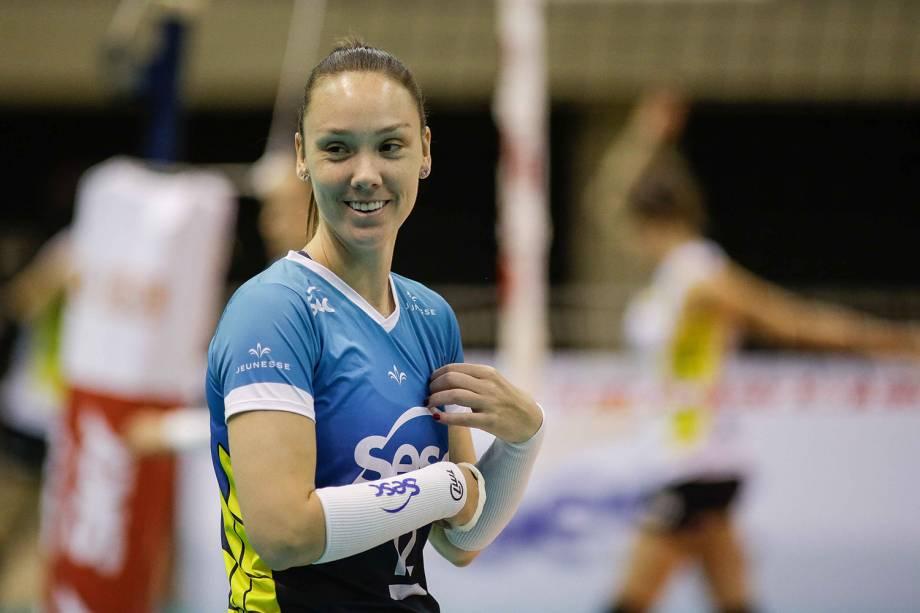 Roberta Ratzke, jogadora do Sesc Rio