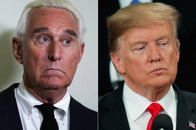 Roger Stone e Donald Trump