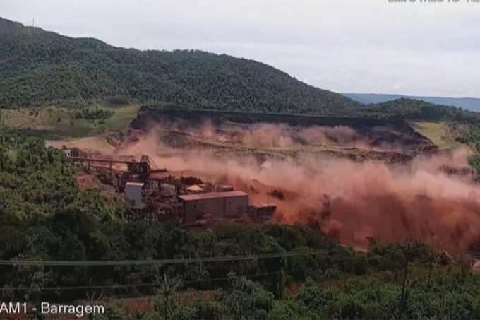 Vídeo mostra exato momento do rompimento da barragem de Brumadinho