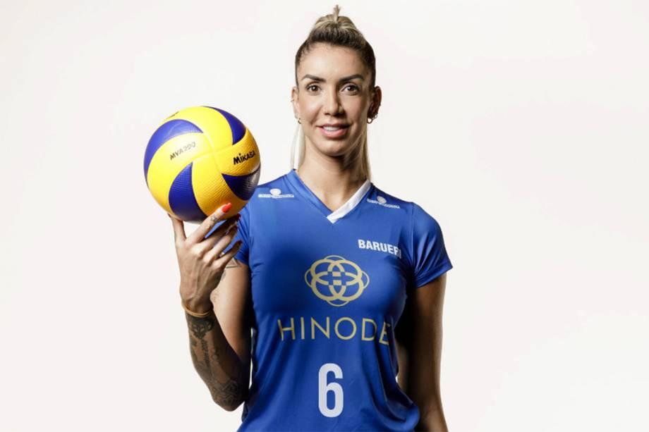 Thaísa, jogadora do Hinode Barueri