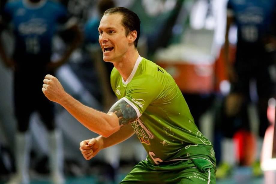 Tiago Brendle, jogador do Sesc Rio