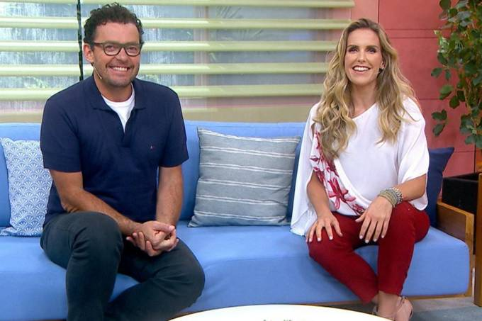 Fernando Rocha e Mariana Ferrão, ex-apresentadores do 'Bem Estar'