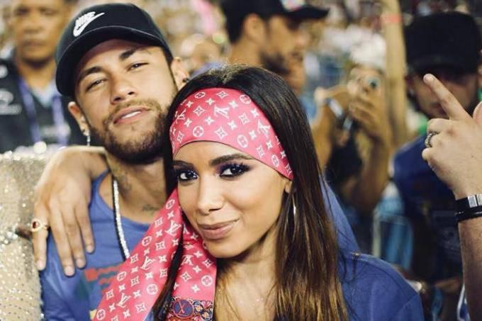 Neymar Jr. e Anitta