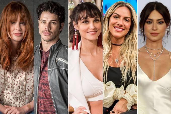 Marina Ruy Barbosa, José Loreto, Débora Nascimento, Giovanna Ewbank e Thaila Ayala