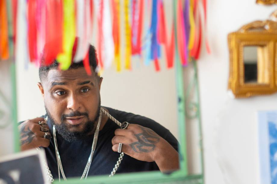 O rapper Baco Exu do Blues