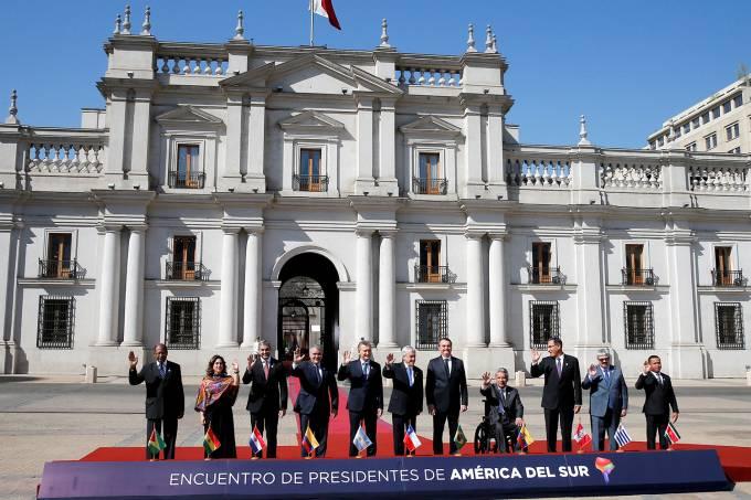 Encontro de Presidentes da América do Sul