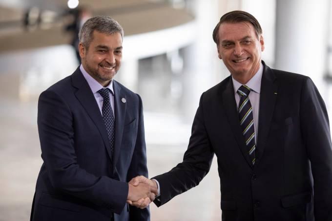 Jair Bolsonaro e Mario Abdo