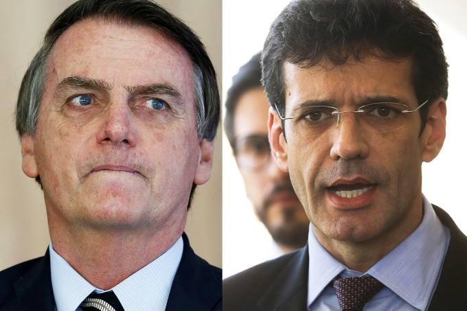 Jair Bolsonaro e Marcelo Álvaro Antônio