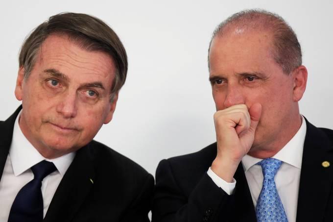 Jair Bolsonaro e Onyx Lorenzoni