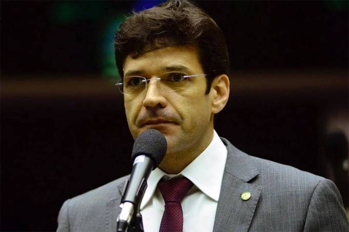 O Ministro do Turismo, Marcelo Álvaro Antônio