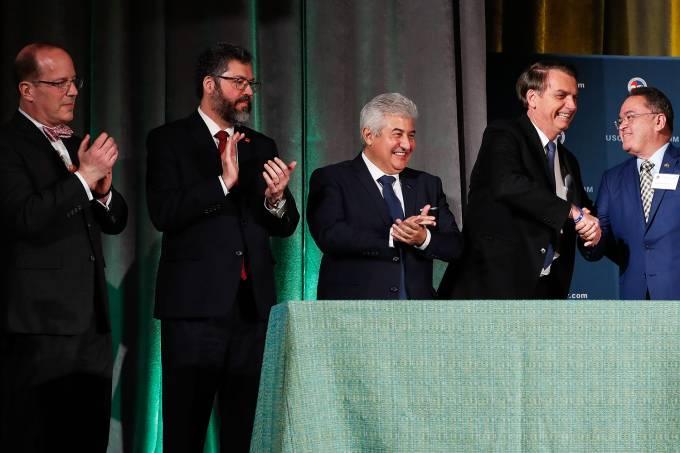 Brasil e Estados Unidos assinam acordo