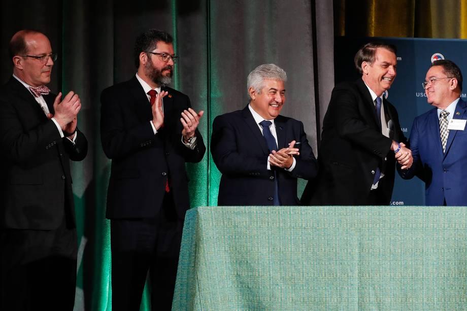 Brasil e Estados Unidos assinam acordo de Salvaguardas da Base de Alcântara - 18/03/2019