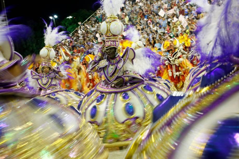 Com o enredo 'Viraviradouro', a escola de samba Unidos do Viradouro desfila no Sambódromo da Marquês de Sapucaí - 03/03/2019