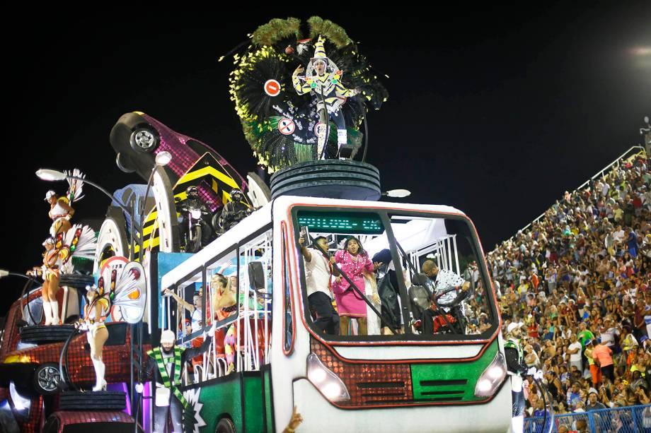 Desfile da escola de samba Acadêmicos do Grande Rio, no Sambódromo da  Marquês de Sapucaí - 04/03/2019