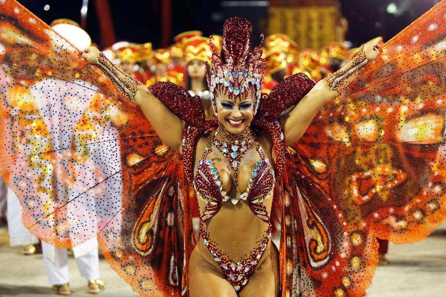 Viviane Araújo, rainha de bateria da escola de samba Acadêmicos do Salgueiro - 04/03/2019