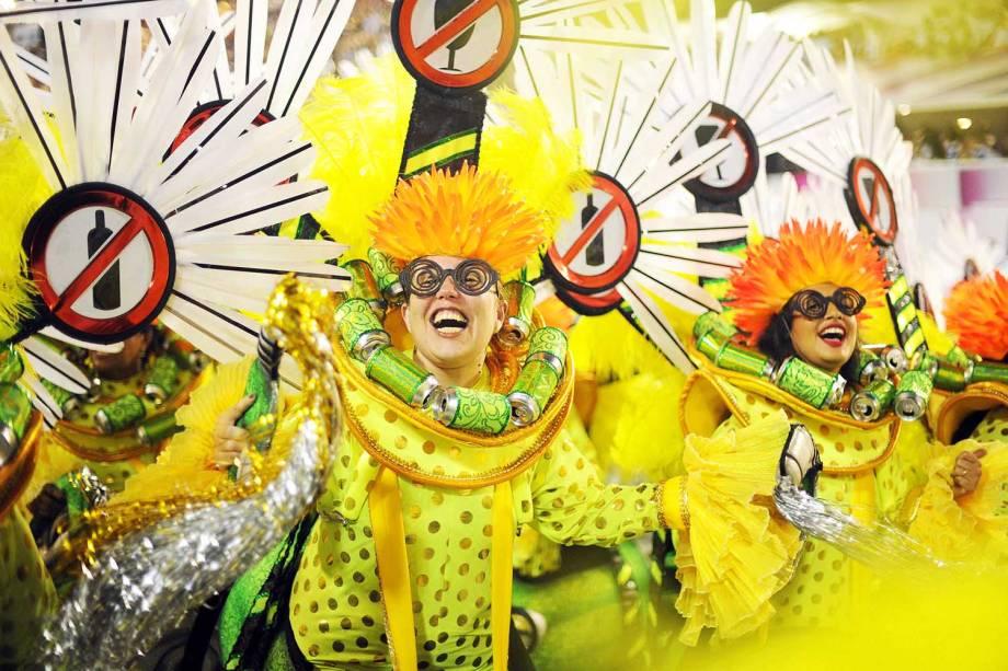 Desfile da escola de samba Acadêmicos do Grande Rio no Sambódromo da Marquês de Sapucaí - 03/03/2019