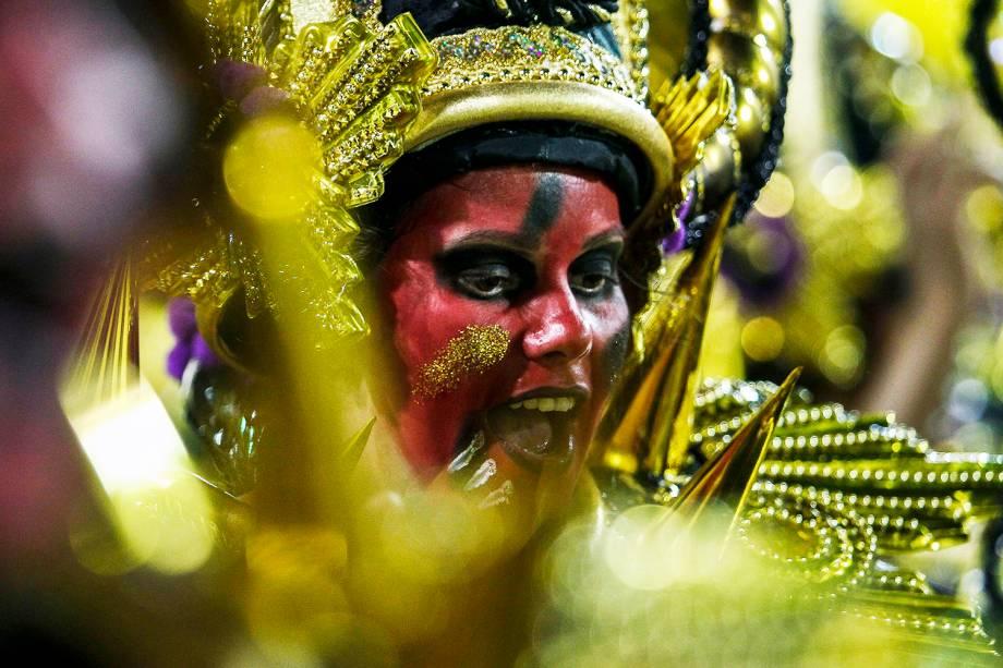 Com o enredo 'Vai-Vai, o quilombo do futuro', a escola de samba Vai-Vai é a quarta a desfilar no Sambódromo do Anhembi - 03/03/2019