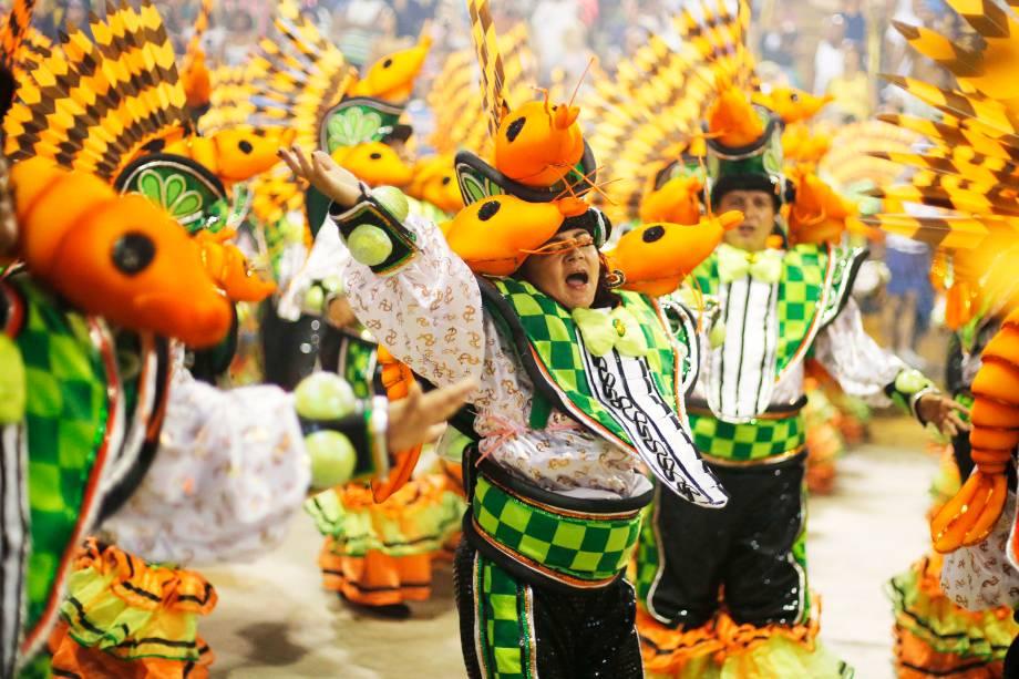 Desfile da escola de samba São Clemente, no Sambódromo da Marquês de Sapucaí - 04/03/2019