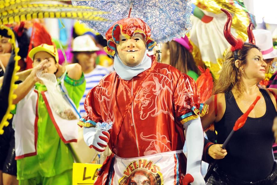 A escola de samba São Clemente é a primeira a desfilar no Sambódromo da Marquês de Sapucaí - 04/03/2019