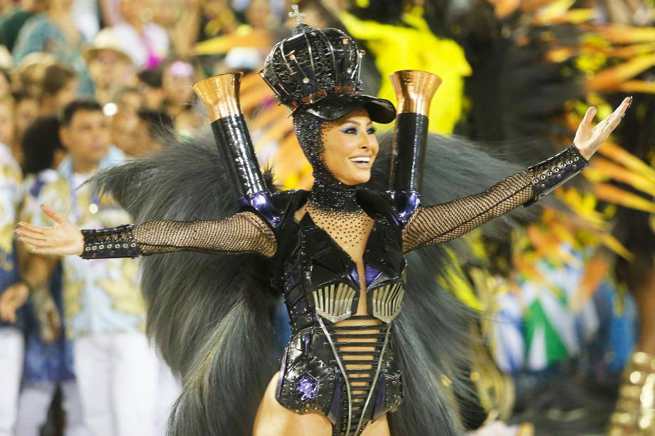 Sabrina Sato, rainha de bateria da escola de samba Unidos de Vila Isabel - 04/03/2019
